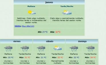 Navidad lluviosa: Pronostican precipitaciones para todo el fin de semana