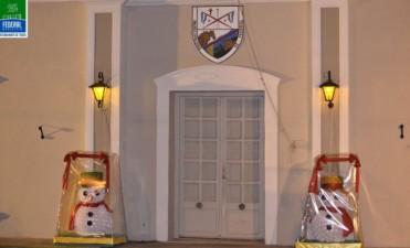 Ornamentación navideña en la Ciudad