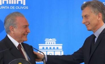 Advierten en Brasil por las consecuencias contra Temer si no responde por las offshore de Macri