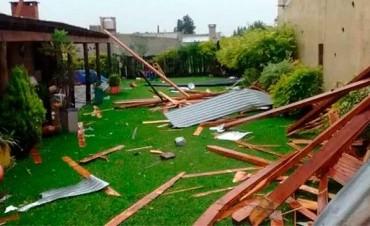 Los daños que provocó el temporal en Entre Ríos