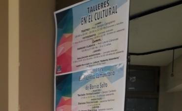 Cierre de talleres en el Centro Cultural de Federal.
