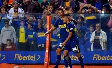 Boca volvió al triunfo ante Arsenal y continua como líder de la Superliga