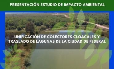 Convocatoria abierta PRESENTACIÓN DEL ESTUDIO DE IMPACTO AMBIENTAL SOBRE LAS LAGUNAS DECANTADORAS