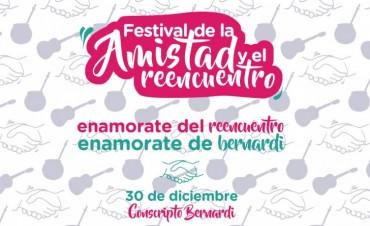 Se viene la novena edición del festival de la amistad y el reencuentro en Conscripto Bernardi.