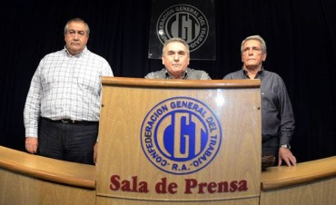 La CGT hará paro nacional este viernes si se aprueba la Reforma