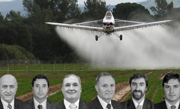Alerta glifosato: entre gallos y media noche senadores dieron luz verde a las fumigaciones