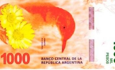 Todas las series de billetes tendrán imágenes de animales autóctonos en 2018