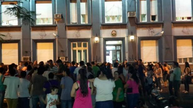 Autoconvocados policiales en Concordia: