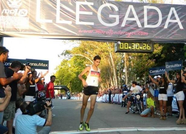 La Maratón de Reyes la gano el concordiense Federico Bruno