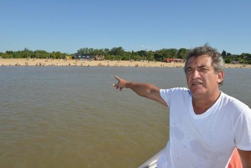 Se vive el turismo a pleno en las playas entrerrianas