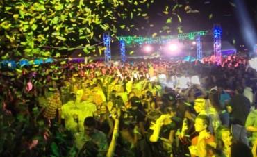 La mega fiesta que movilizó a Federal y zona
