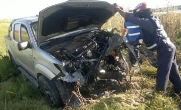Entrada sur a la provincia con muchos accidentes