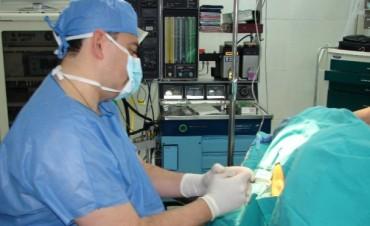 Desde salud buscan incorporar anestesistas al sistema sanitario público