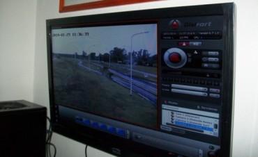 En Federal ya funcionan las cámaras de Vigilancia