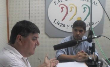 Carlos Ayala y la labor de la conducción de la U.C.R. local