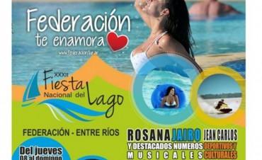 Federación te espera con la Fiesta Nacional del Lago