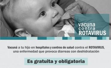 Comienza la vacunación gratuita contra el rotavirus