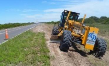 Vialidad Nacional realiza tareas de mantenimiento en las rutas nacionales