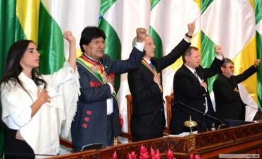 En Bolivia, Evo Morales juró su tercer mandato consecutivo como presidente