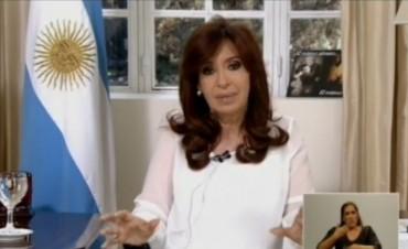 Cristina y las nuevas medidas anunciadas este lunes
