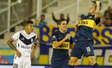 Boca  gano con un golazo y se metió en la fase de grupos de la Copa Libertadores 2015