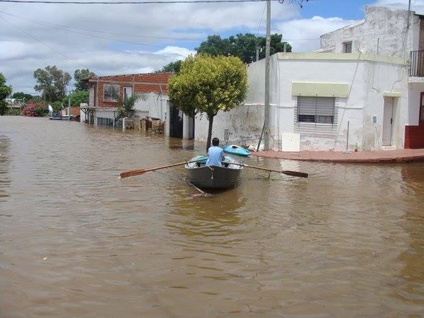 La provincia de Entre Ríos esta en emergencia Hídrica, vial, sanitaria y social