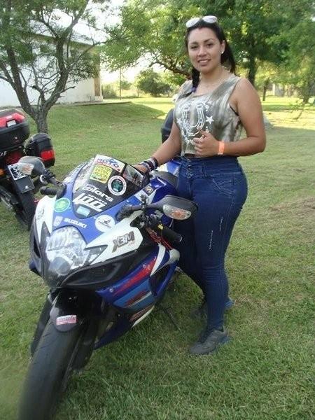 Una mexicana en el Moto Encuentro Solidario de Federal