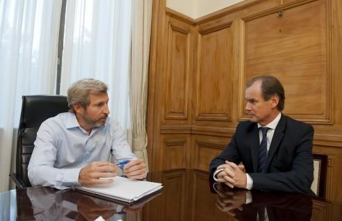 Bordet se reunió con Frigerio por el tema cooparticipación
