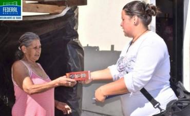 La Brigada Ecologista en la calle en campaña de concientización de separación de resiudos