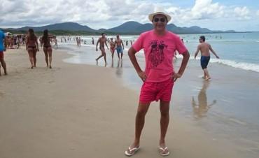 Entrerrianos que disfrutan de las playas cálidas de Brasil