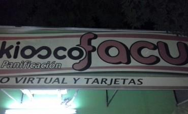Asaltaron un Kiosco en calle Urquiza