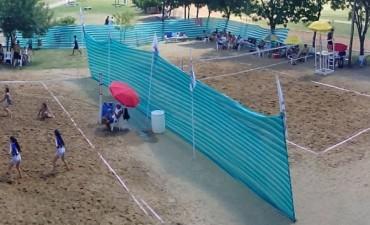 Beach Voley en el complejo polideportivo