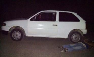 Fue en Bovril, llevaban cocaína y marihuana, los detuvo la Policía