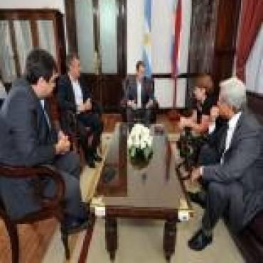 Diputados Nacionales acordaron con Bordet una agenda de trabajo en común