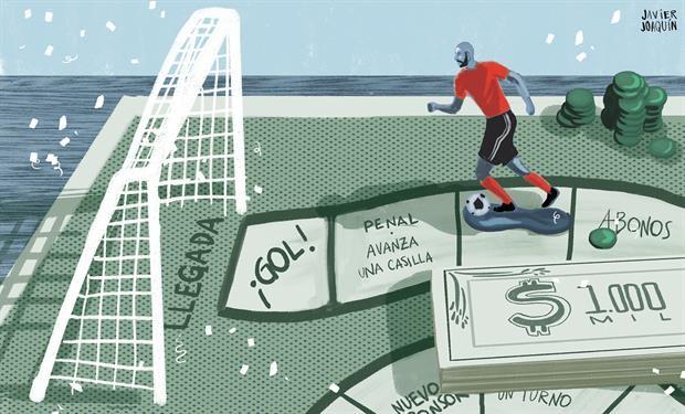 Fútbol argentino: un negocio de más de $ 100.000 millones en el que los clubes no gritan todos los goles