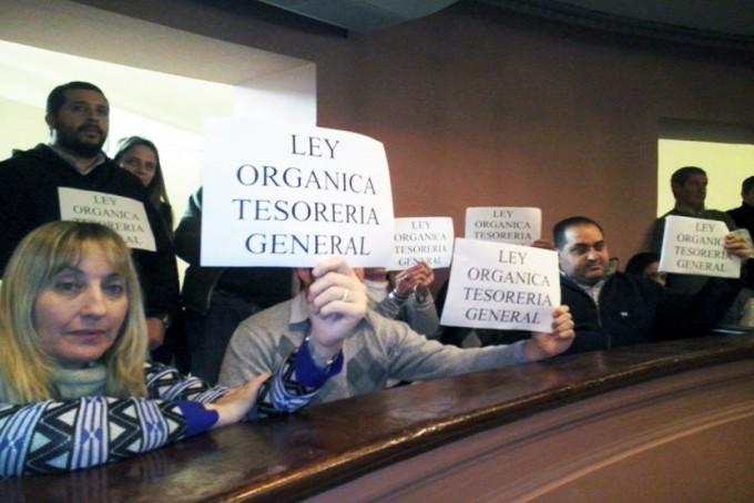 Se oficializó la ley orgánica de la Tesorería General de la provincia