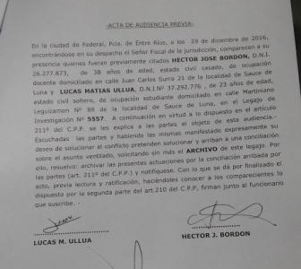Duro revés judicial en favor de Bordón