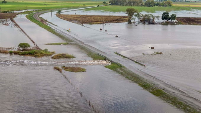 Millonarias pérdidas por las inundaciones: Entre 1100 y 1750 millones de dólares