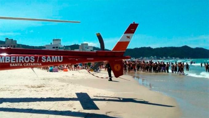 Aguas vivas en el sur de Brasil: 6.600 personas afectadas en un fin de semana