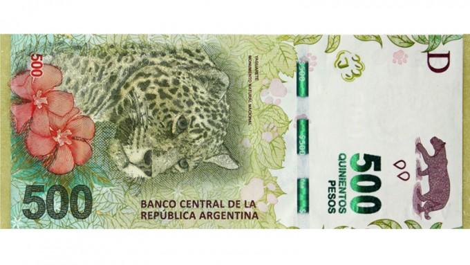 Aparecieron billetes falsos de 500 pesos y recuerdan cómo identificarlos