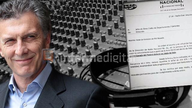 Confirmado: Macri convirtió en repetidora de Buenos Aires a la FM de LT 14