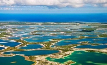 Kiritimati, la pequeña isla que recibió el 2017 antes que nadie