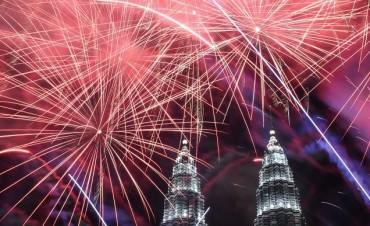 Las mejores imágenes de los festejos de Año Nuevo alrededor del mundo
