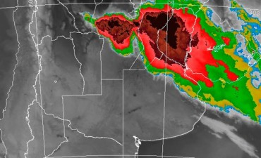 Entre Ríos en rojo: Sigue el alerta por tormentas fuertes