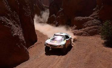 Dakar: Despres es el ganador del día en autos en su llegada a Bolivia