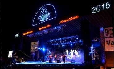 Festival Nacional del Chamame en Federal : Cartelera artística día por día