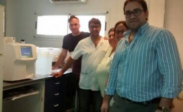 El laboratorio del hospital Urquiza ya cuenta con un nuevo contador hematológico