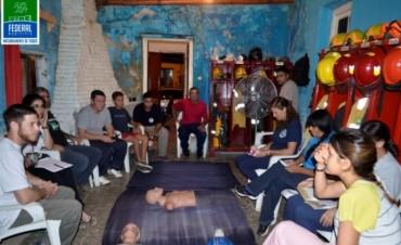 2 Encuentro de la Capacitación sobre Soporte Vital Básico a Bomberos Voluntarios