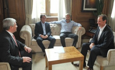 Ante Nación, Bordet gestiona financiamiento para obra pública
