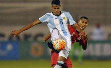 Argentina debutó en el Sudamericano Sub 20 con un empate frente a Perú